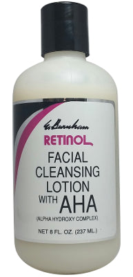 Retinol Facial Cleansing Lotion w/AHA