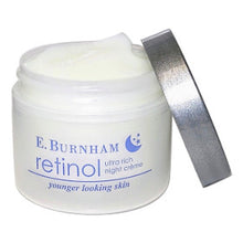 Load image into Gallery viewer, Retinol Ultra Rich Night Créme with lid off.