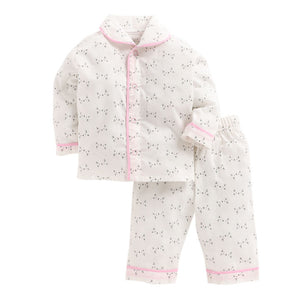CNB068-Kitty Print Night Suit