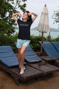 C857 Women T-shirt & Shorts