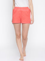 Load image into Gallery viewer, S48-Lounge Shorts (Coral)