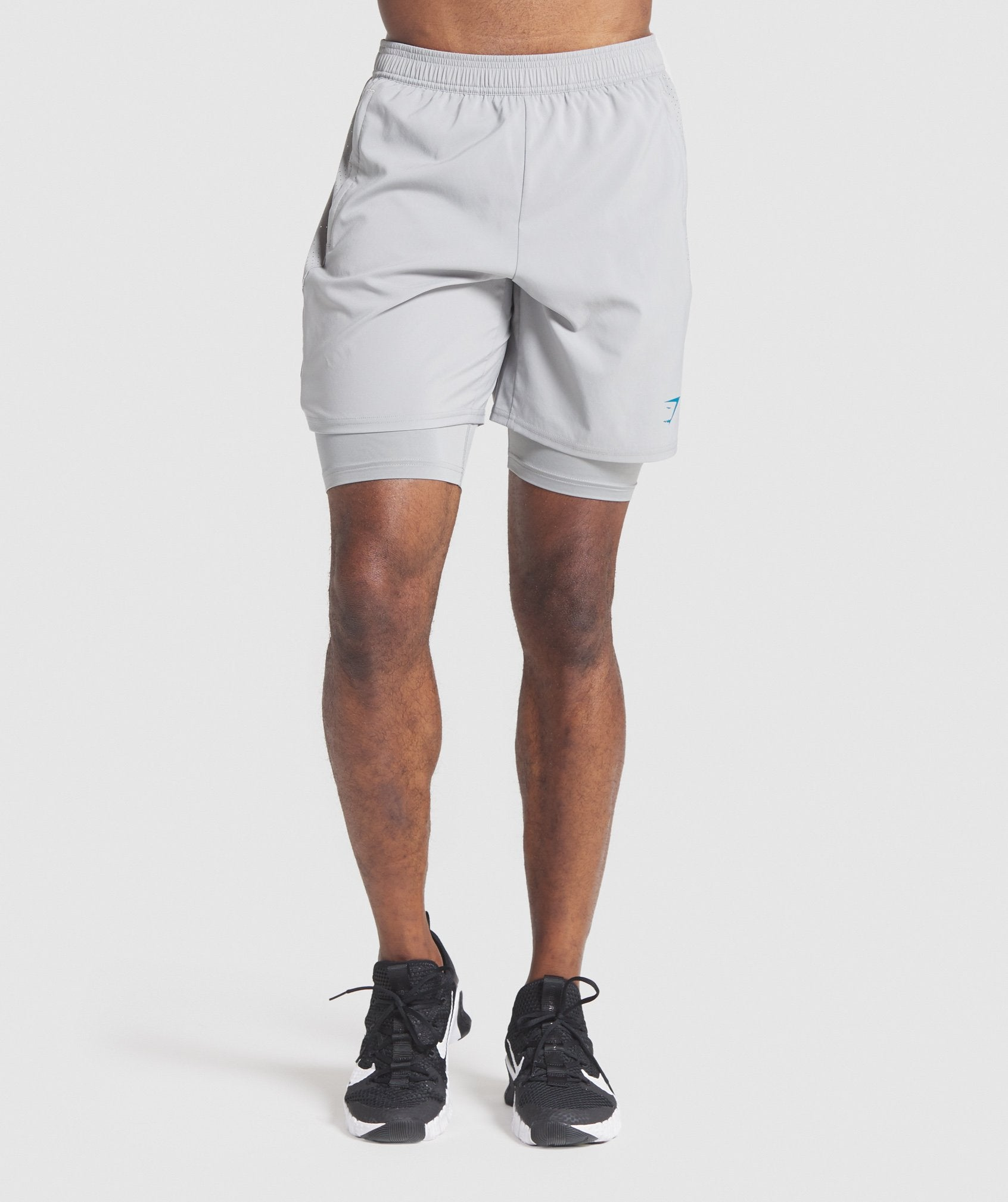 Classier: Buy Gymshark Aspect 2 in 1 Shorts - Smokey Grey - Gymshark