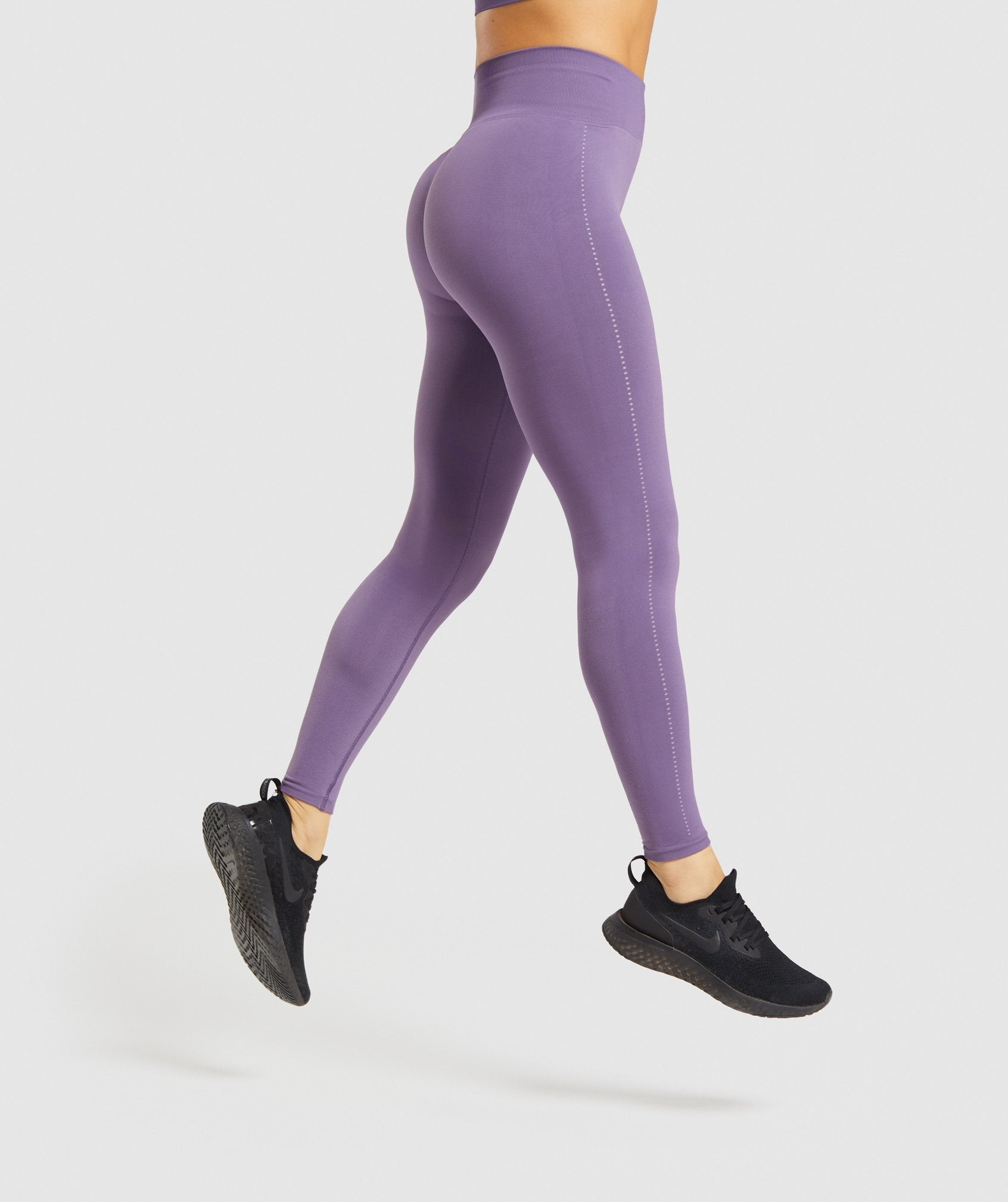 Classier: Buy Gymshark Breeze Lightweight Seamless Tights - Purple - Gymshark