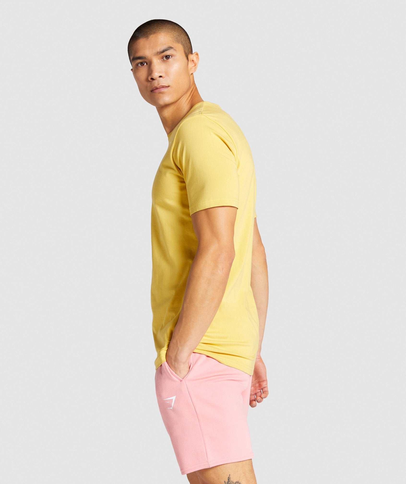 Classier: Buy Gymshark Critical T-Shirt - Yellow - Gymshark