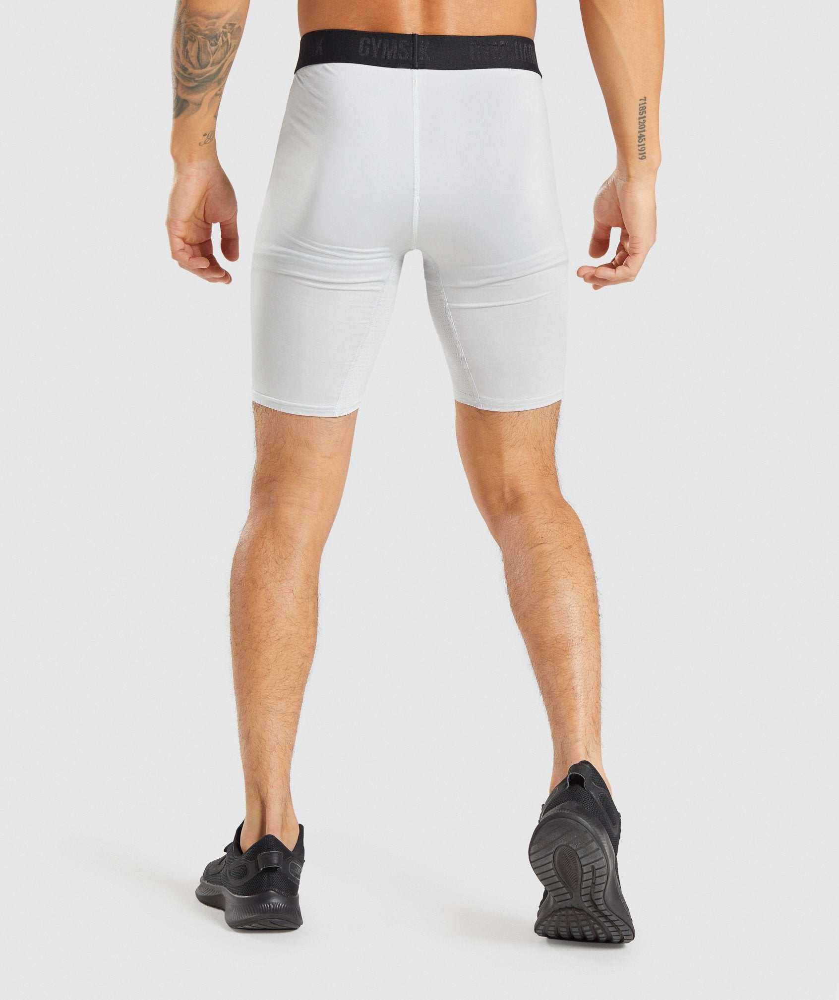 Classier: Buy Gymshark Element Baselayer Shorts - Light Grey - Gymshark