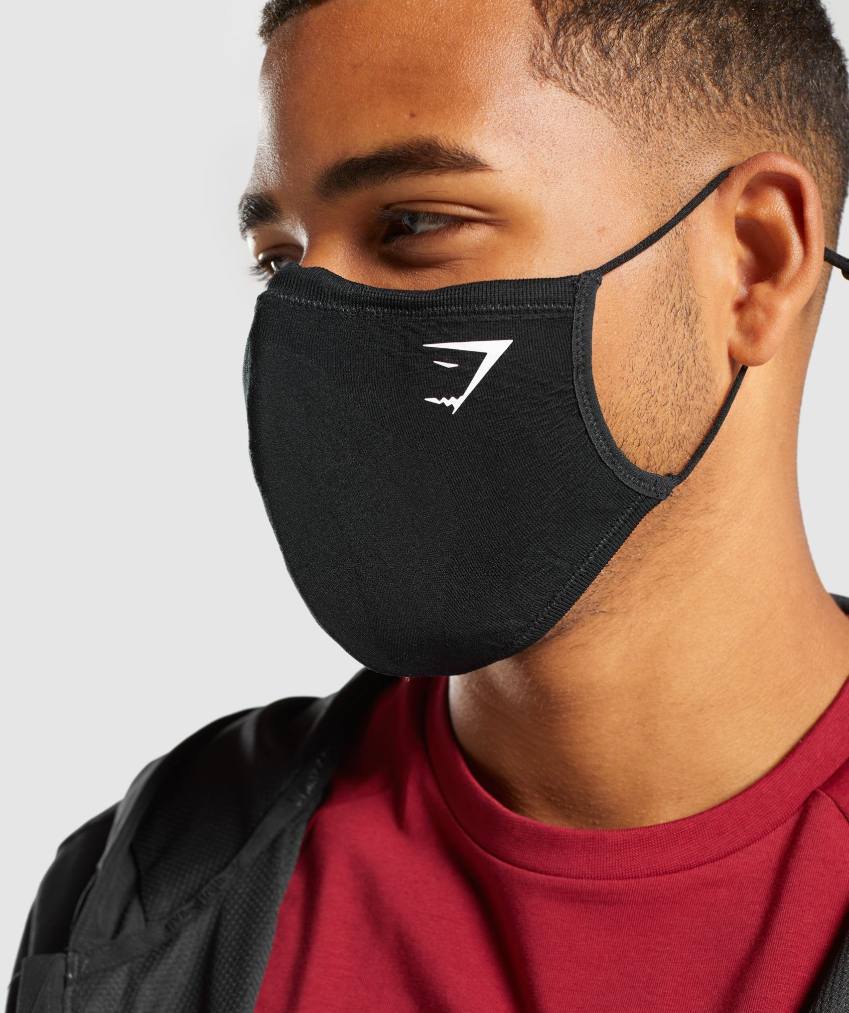 Classier: Buy Gymshark Face Coverings (2PK) - Black - Gymshark