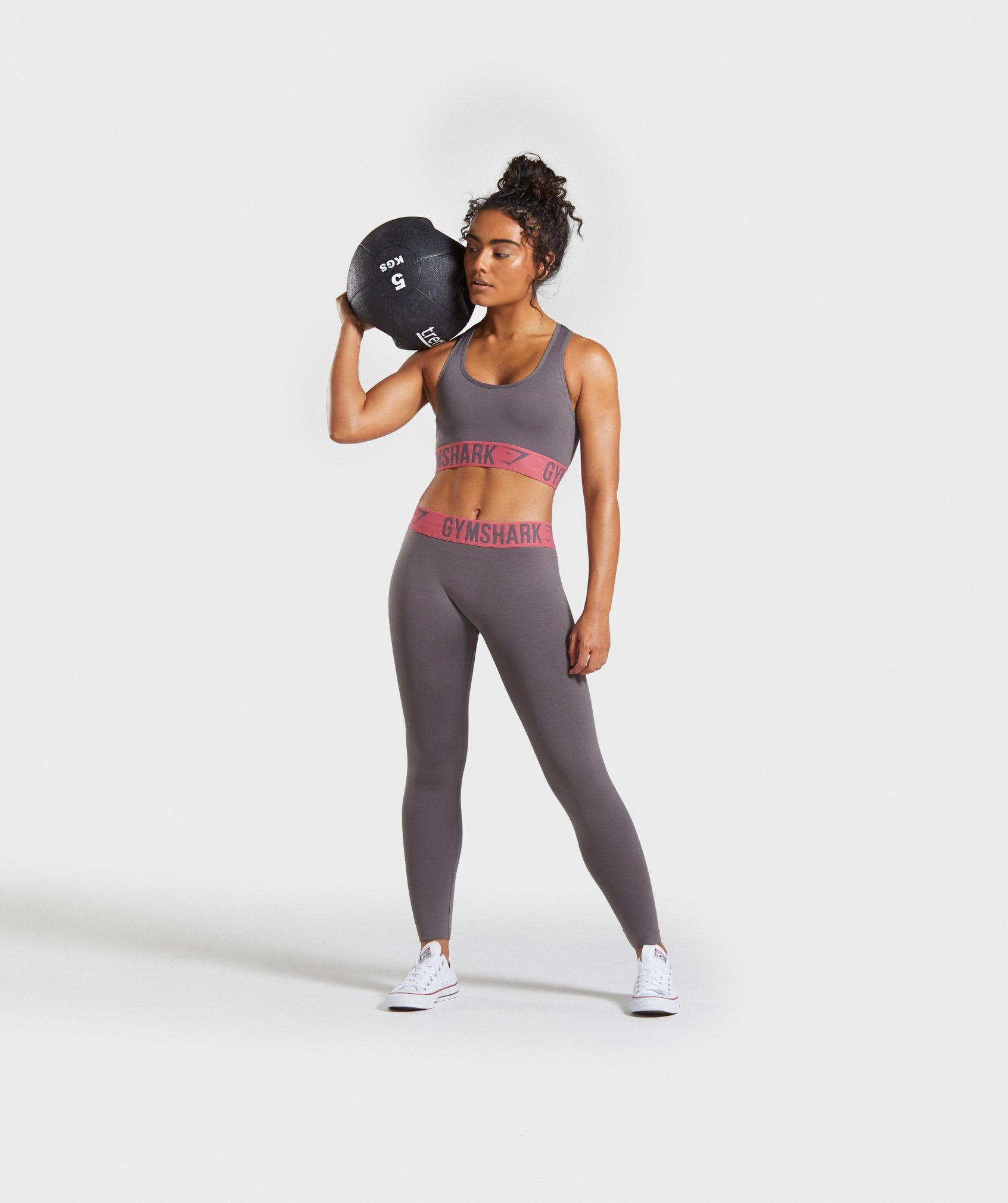 Classier: Buy Gymshark Fit Seamless Sports Bra - Slate Lavender/Rose - Gymshark