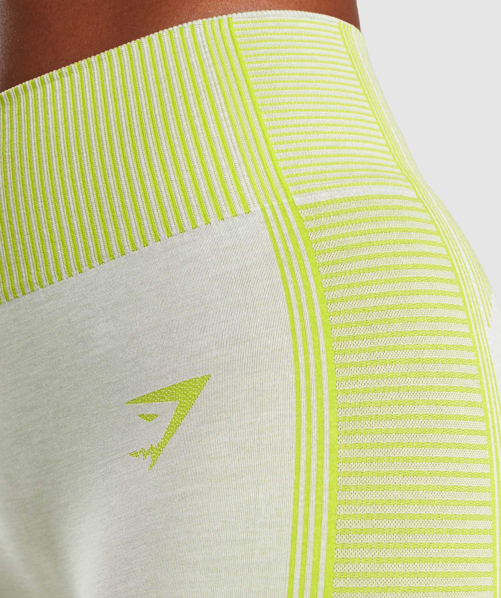 Classier: Buy Gymshark Hyper Amplify Leggings - Light Grey Marl/Lime - Gymshark