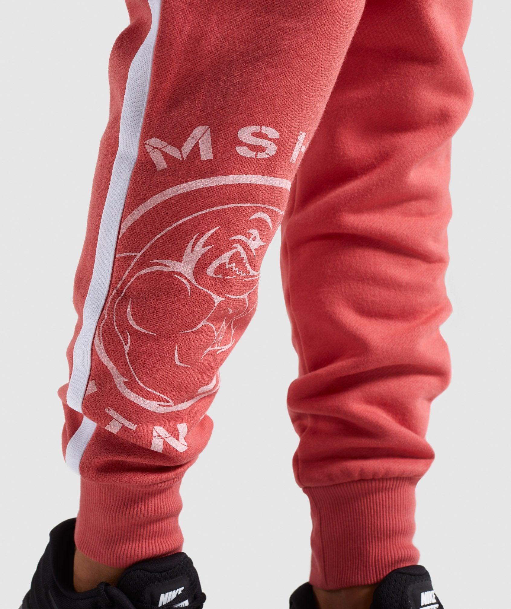 Classier: Buy Gymshark Legacy Fitness Joggers - Brick Red - Gymshark