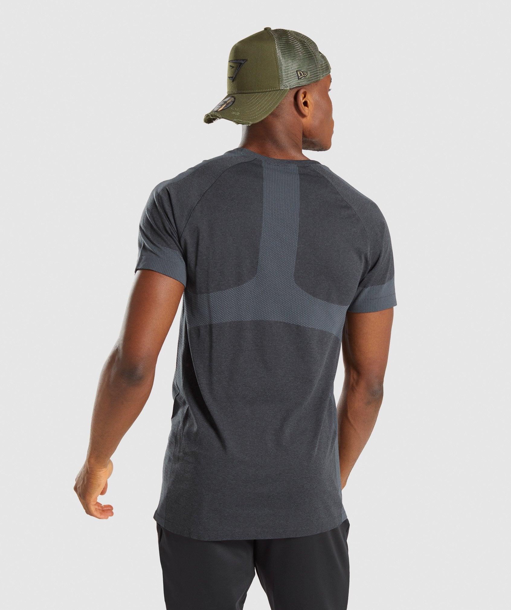 Classier: Buy Gymshark Regulate Training T-Shirt - Black/Teal - Gymshark