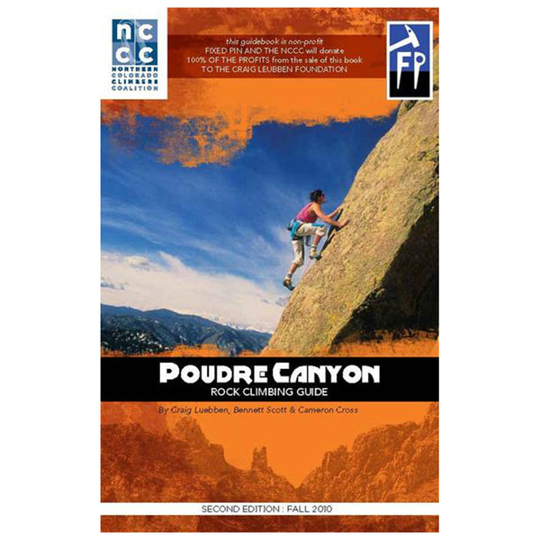 Poudre Canyon Rock Climbing Guide, 2nd edition