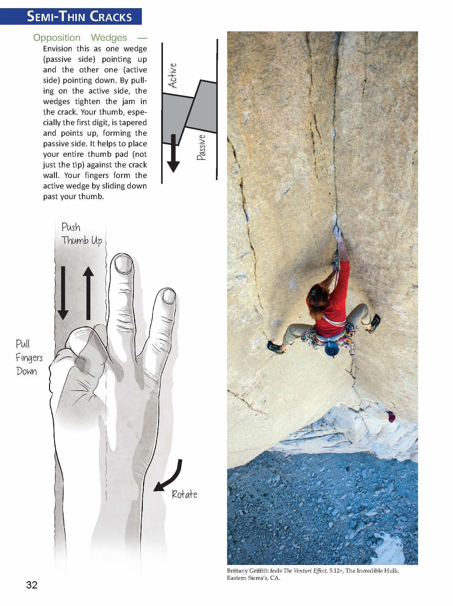 Crack Climber's Technique Manual - Tutorials and Tips