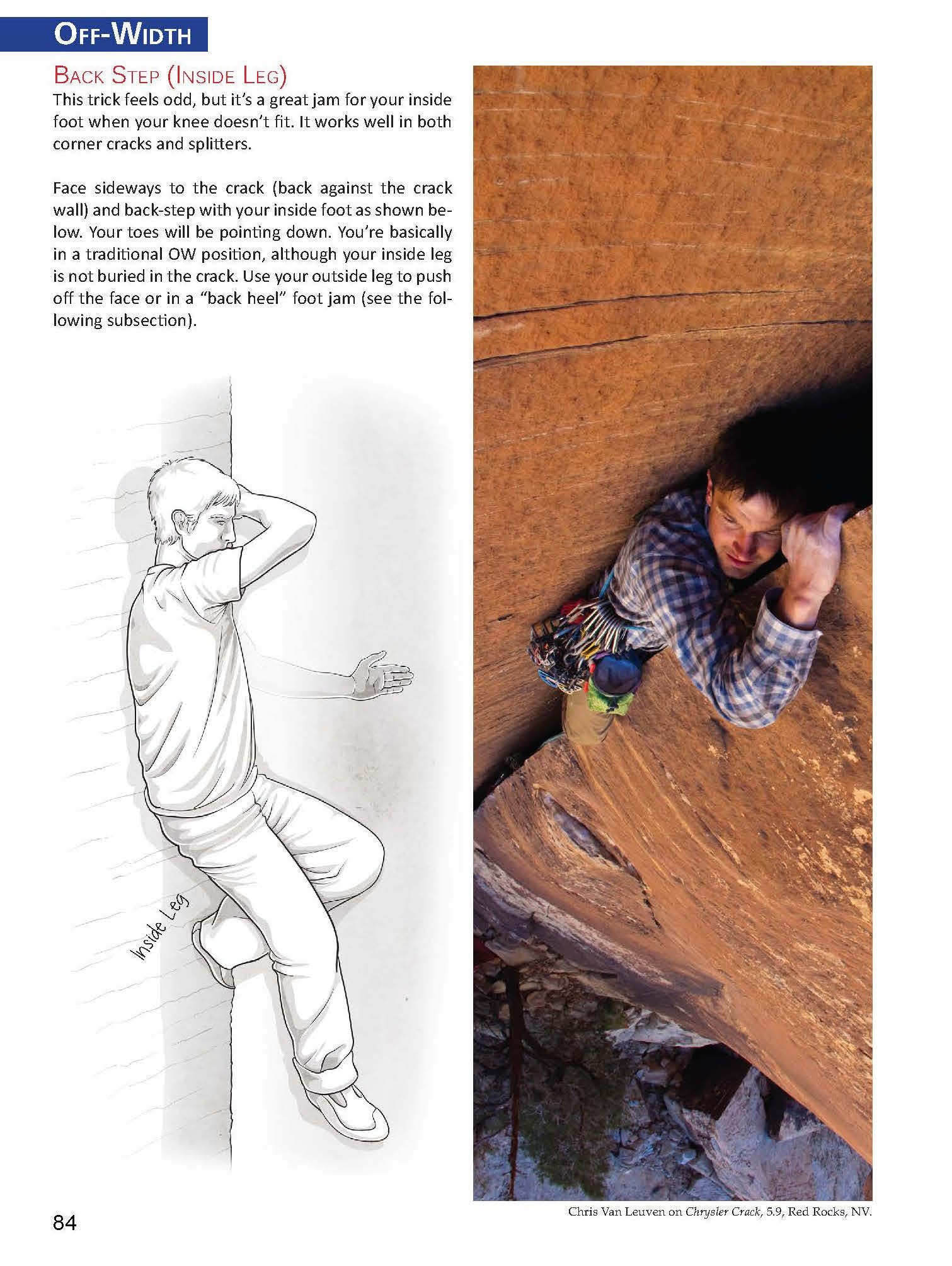 Crack Climber's Technique Manual - Kent Pease
