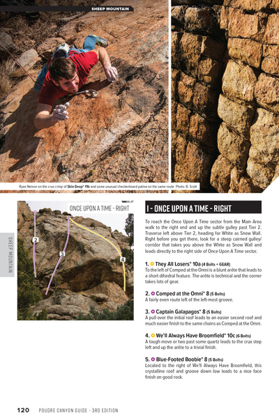 Poudre Canyon (Ft Collins) Rock Climbing Guidebook