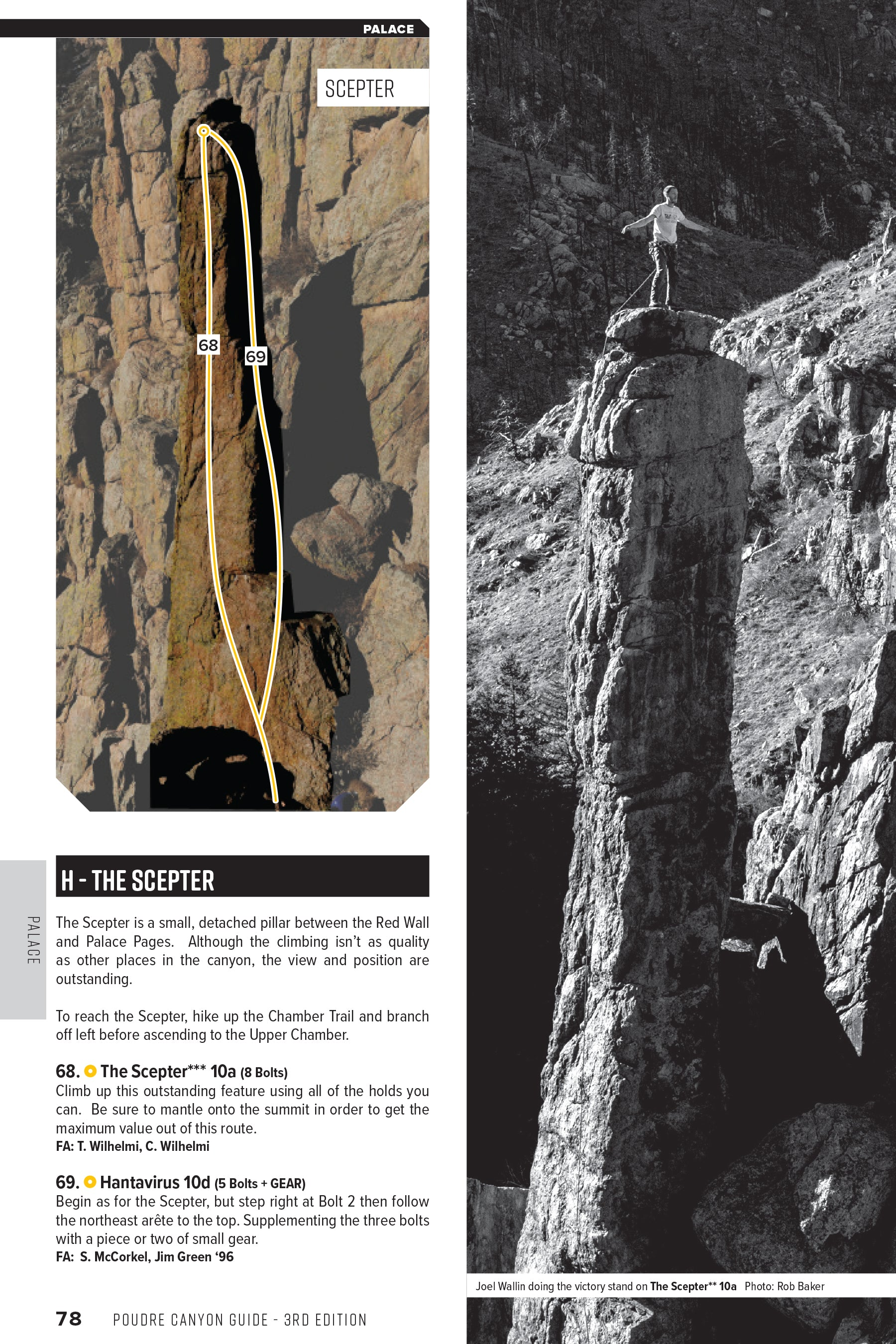 Poudre Canyon (Fort Collins) Guidebook 3rd ed., 2018