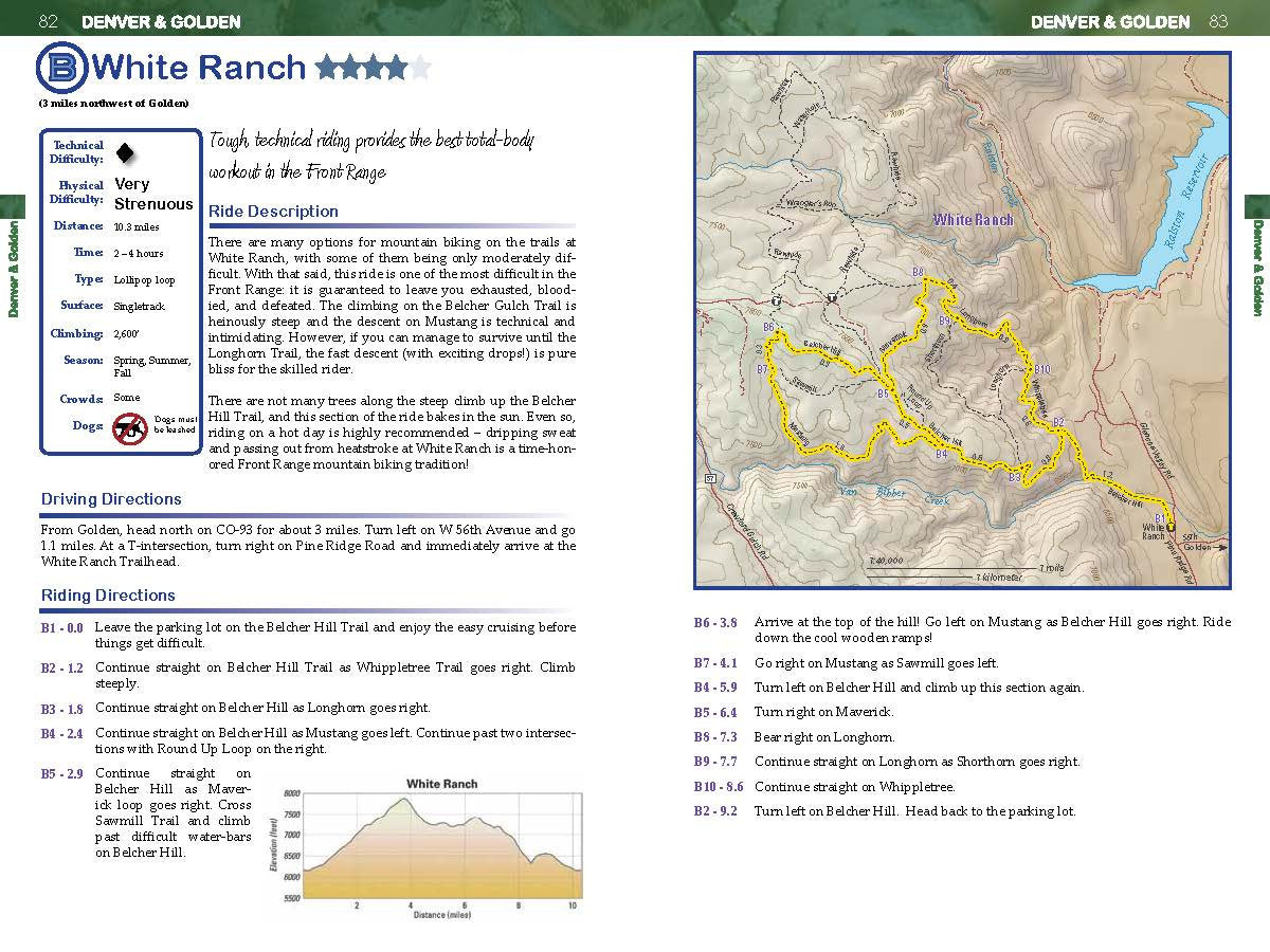 Colorado Mountain Biker's Guide