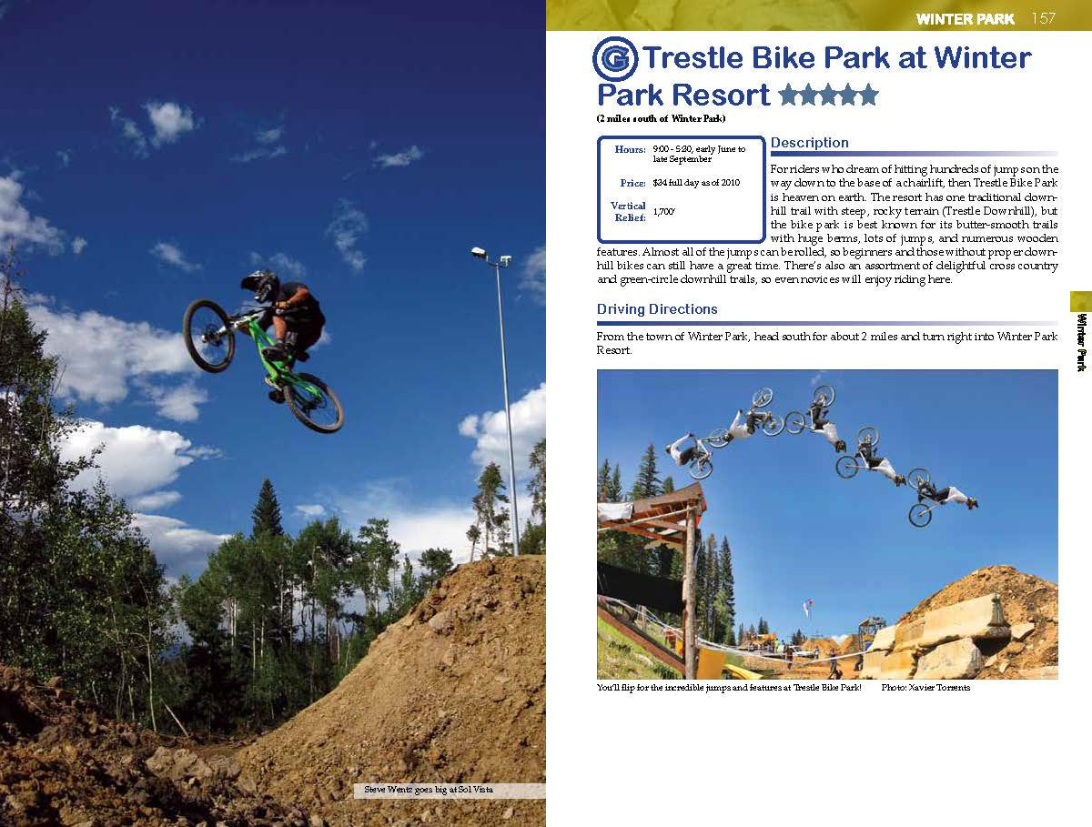 Colorado Mountain Bike Guidebook