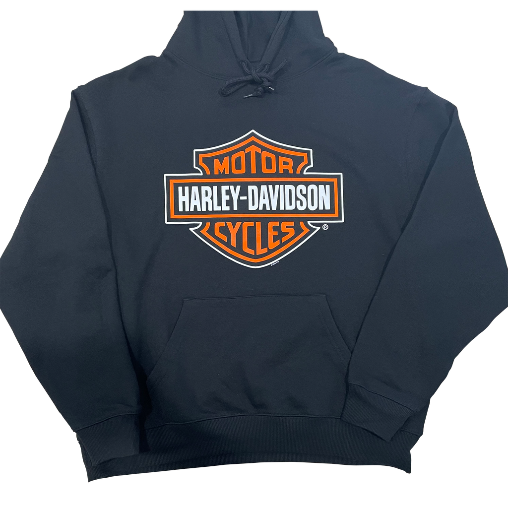 Adelaide Harley-Davidson Bike Works Skeleton Hoody - Black