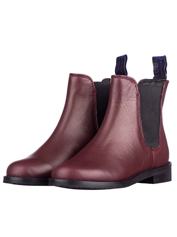 Traditional Oxblood Todhpurs Riding Boots