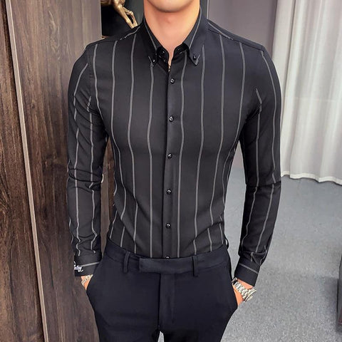 Dominus Classic Striped Shirt