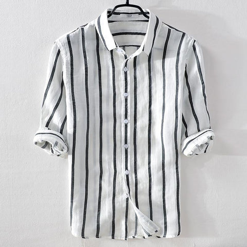 Dominus Striped Casual Shirt
