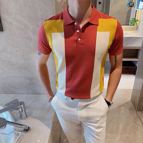 Casual Slim Fit Polo T-Shirt