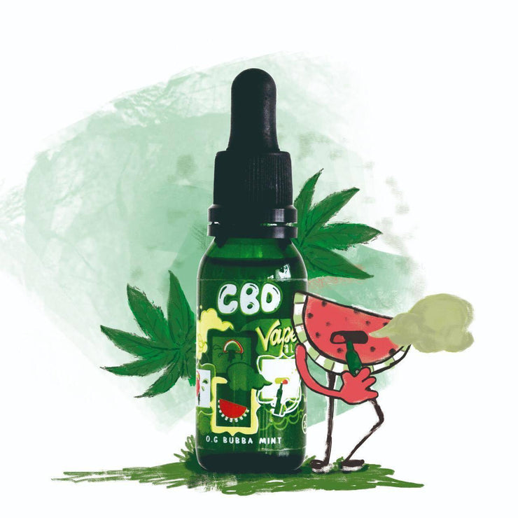 LIQUIDO CBD VAPE & BLISS 25ML 30MG
