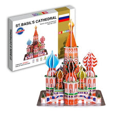 Load image into Gallery viewer, 3D Puzzle Colourful - Landmark