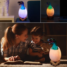 Load image into Gallery viewer, 3D Dinosaur Egg LED Night Light