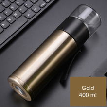 Load image into Gallery viewer, 400ml Steel Water Bottle with lead filter