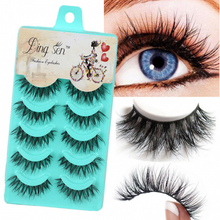 Load image into Gallery viewer, 5 Pairs False Eyelashes