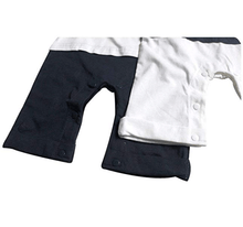 Load image into Gallery viewer, Baby Boy Sailor Romper Outfit