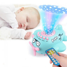 Load image into Gallery viewer, Baby Star Projection Remote Contorl Aircraft Toys