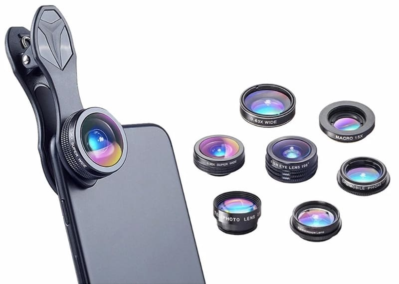 7 in 1 Kit Phone Camera Lens