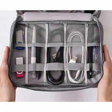 Load image into Gallery viewer, Waterproof Travel Electronic Cable Organizer Bag