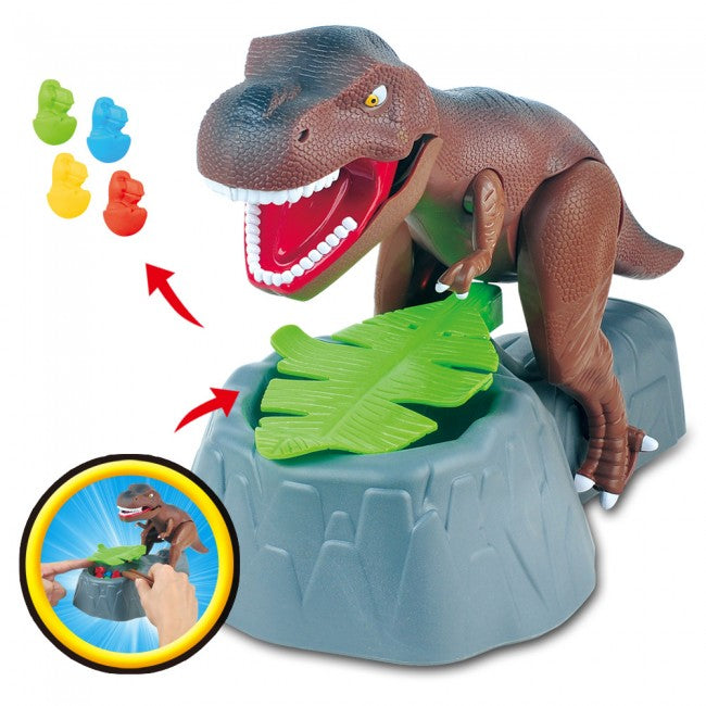 Electric Biting Finger Dinosaur Toy