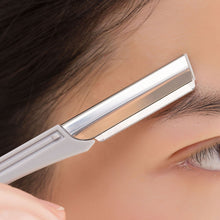 Load image into Gallery viewer, US 2 Pack Portable Safe Eyebrow Shaper