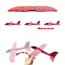 Load image into Gallery viewer, 3 Pack Foam Plane Glider Hand Throw Airplane