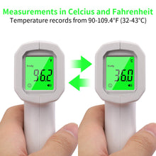 Load image into Gallery viewer, Infrared Forehead Digital Thermometer