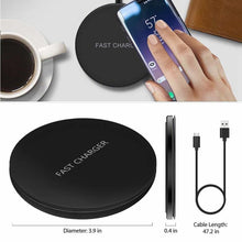 Load image into Gallery viewer, Wireless QI Charging Pad