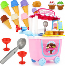 Load image into Gallery viewer, Kids Simulation Ice Cream Shop Role play Gift