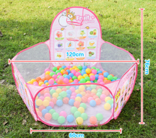 Load image into Gallery viewer, Kids Ball Pit Ball Tent