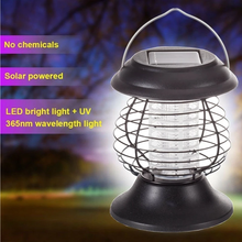 Load image into Gallery viewer, Outdoor Solar Mosquito Outdoor Pest Fly Killer Lamp