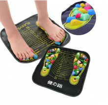 Load image into Gallery viewer, Reflexology Walk Stone Foot Massager Mat