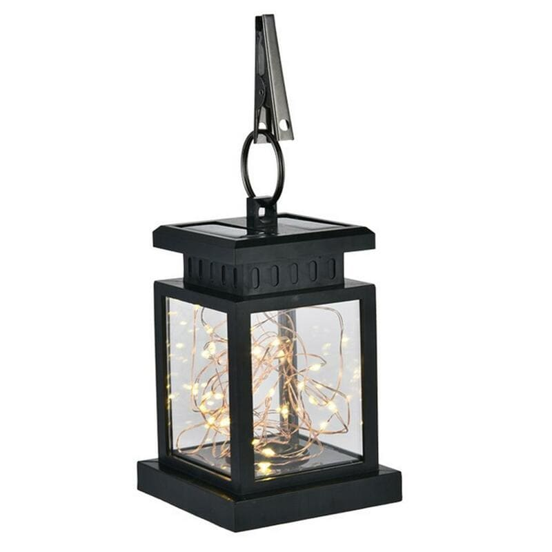 UK Stock Outdoor Waterproof 30 LED Hanging Solar Lantern Light
