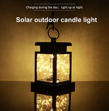 Load image into Gallery viewer, UK Stock Outdoor Waterproof 30 LED Hanging Solar Lantern Light