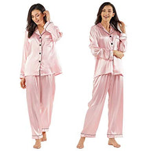 Load image into Gallery viewer, Women's Silk Pajamas Set