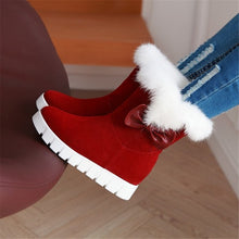 Load image into Gallery viewer, Women Snow Boots Warm Cotton Boots