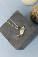 Load image into Gallery viewer, Whale Duo Necklace - Silver