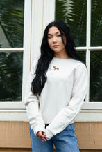 Load image into Gallery viewer, Women's Staffie Sweatshirt - Off White
